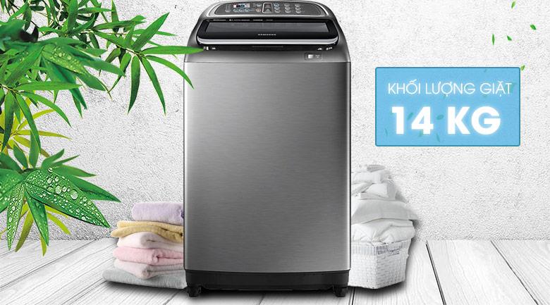 Khối lượng giặt - Máy giặt Samsung Inverter 14 Kg WA14J6750SP/SV