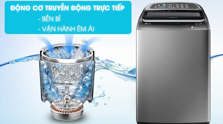Động cơ truyền động trực tiếp - Máy giặt Samsung Inverter 14 Kg WA14J6750SP/SV