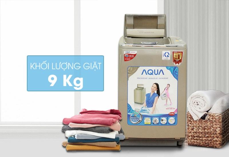 Được thiết kế độc đáo, máy giặt Aqua AQW-DQ900HT sẽ như thổi luồng sinh khí mới vào căn nhà của bạn
