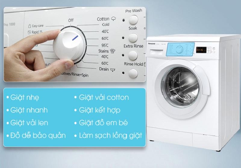 Với đa dạng chương trình giặt khác nhau, máy giặt Panasonic NA-108VK5WVT sẽ dễ dàng hơn cho người dùng tùy chỉnh từng chế độ phù hợp