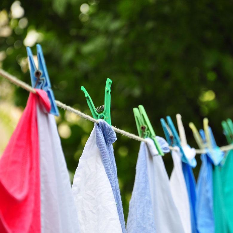 Quần áo khô nhanh nhờ tốc độ quay vắt tương tối cao