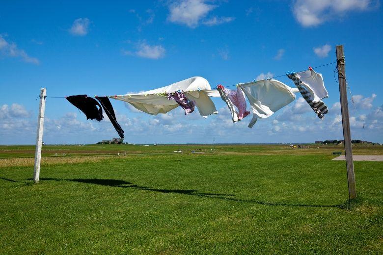 Quần áo khô ráo trong thời gian ngắn