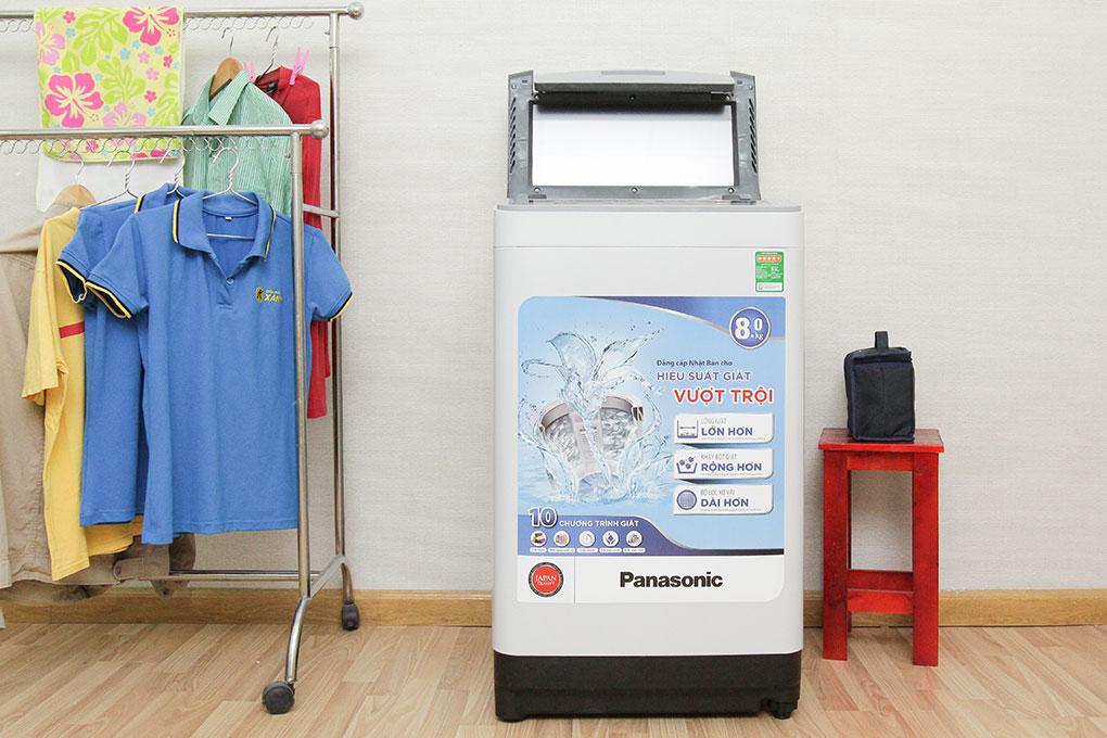 Máy giặt Panasonic 8 kg NA-F80VS8HRV hình 1