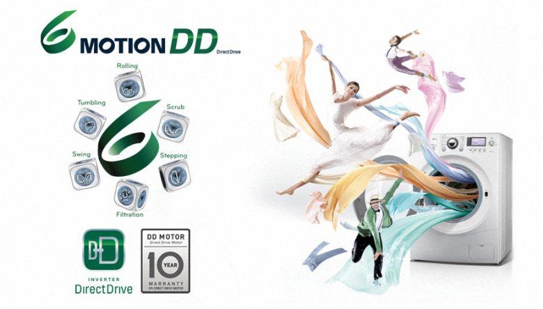 6 motion DD chăm sóc từng sợi vải