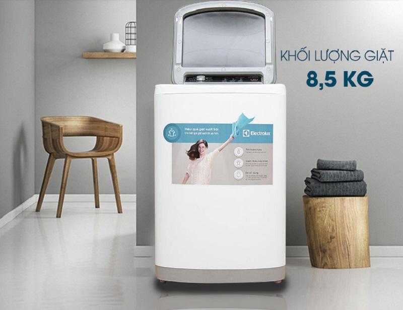 Máy giặt Electrolux EWT8541 được thiết kế đơn giản nhưng khá đẹp mắt