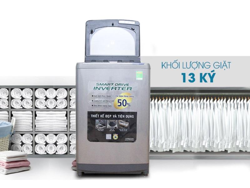 Máy giặt Hitachi SF-130XTV có thiết kế hiện đại và độc đáo