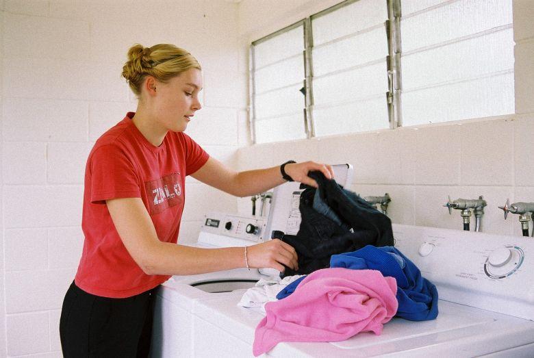Khối lượng giặt lớn giúp nhẹ gánh việc nhà