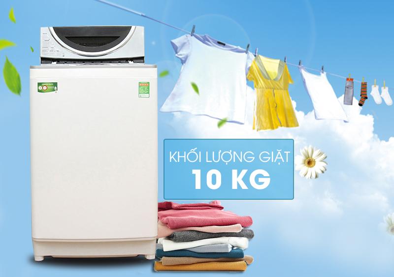 Với thiết kế nhỏ gọn và hiện đại, cùng những đường viền tinh tế, máy giặt Toshiba AW-DE1100GV(WS) hứa hẹn sẽ mang đến cho gia đình bạn một góc phòng thật sang trọng