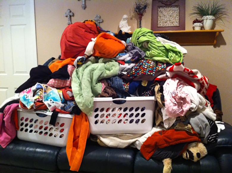 Thoải mái giải quyết cả núi quần áo trong một lần giặt