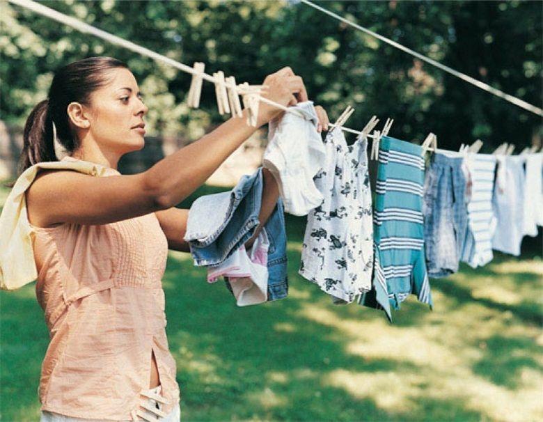 Tốc độ quay vắt mạnh mẽ góp phần rút ngắn thời gian phơi khô quần áo