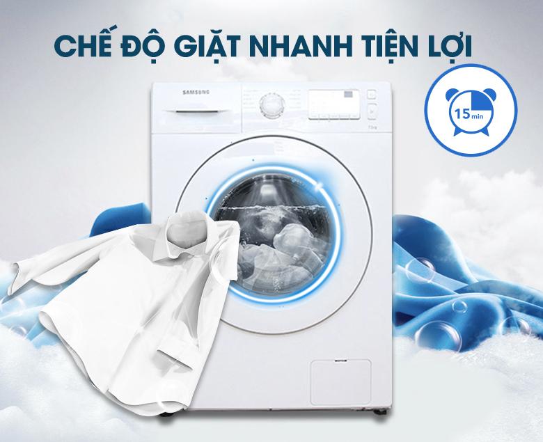 Giặt nhanh quần áo chỉ trong 15 phút