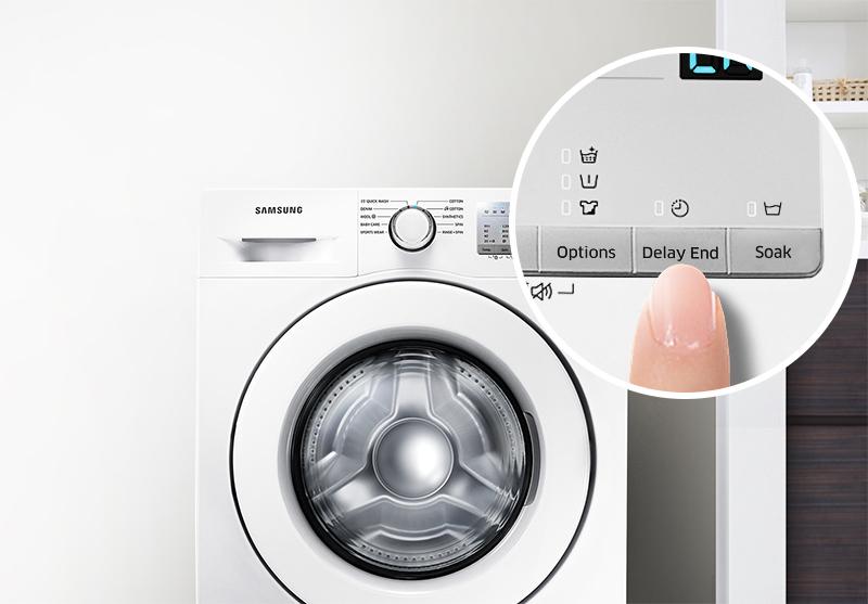Chế độ hẹn giờ giặt tiện lợi