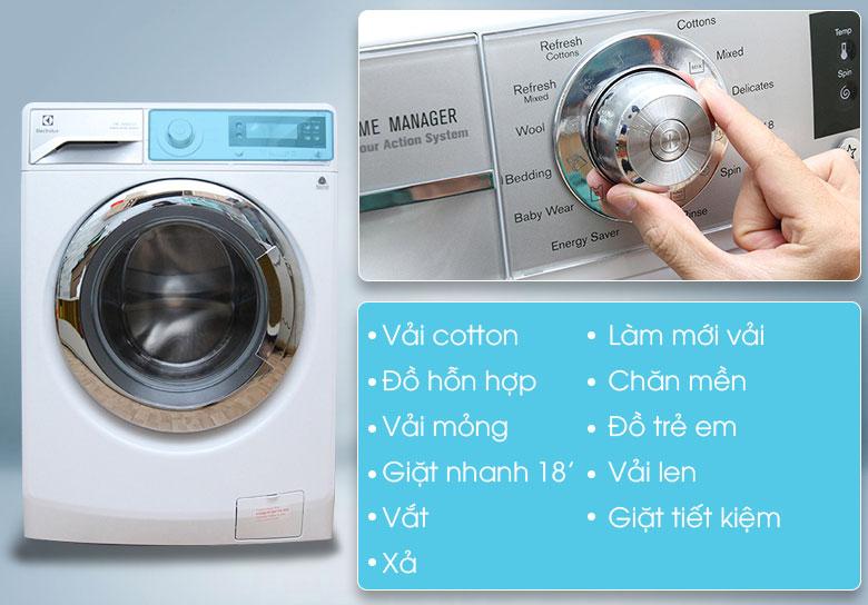 Tính năng điều chỉnh thời gian giặt