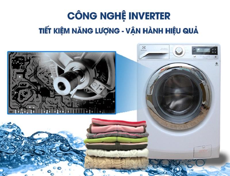 Với công nghệ Inverter hiện đại, máy giặt Electrolux EWF12022 sẽ không chỉ giảm đi lãng phí điện và nước cho gia đình bạn