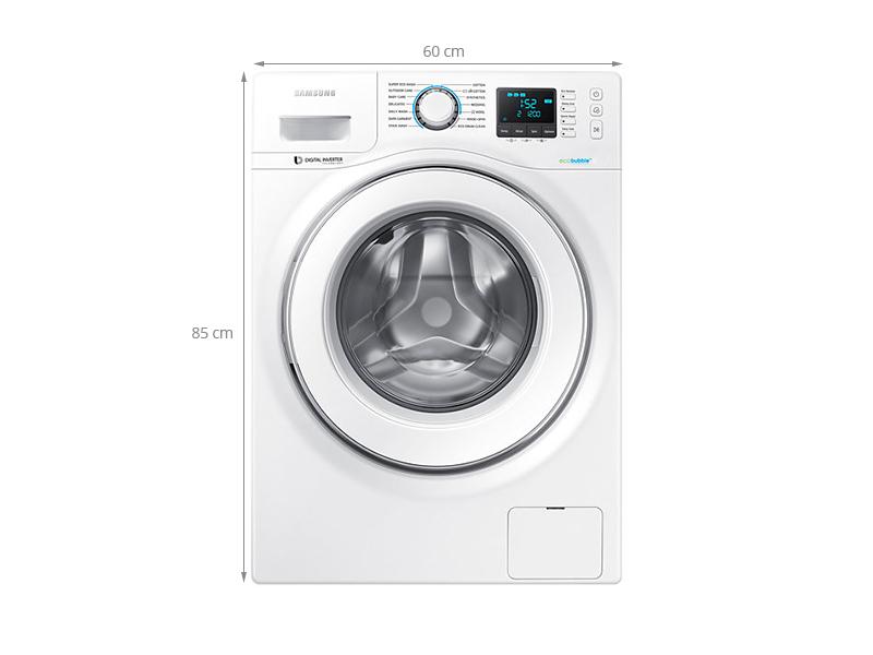 Thông số kỹ thuật Máy giặt Samsung WW90H5400EW/SV 9.0 kg