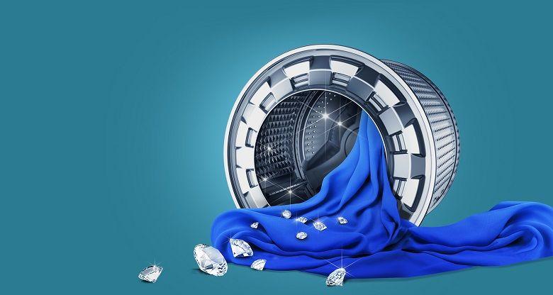 Lồng giặt kim cương bảo vệ sợi vải