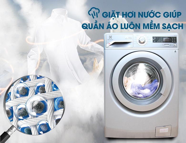 Giặt hơi nước diệt sạch vi khuẩn