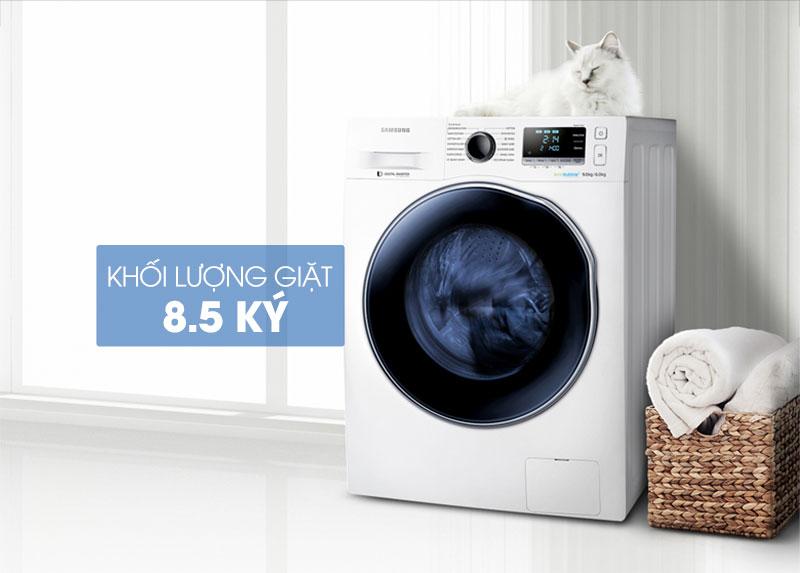 Máy giặt sấy Samsung WD85J5410AW/SV 8.5 kg