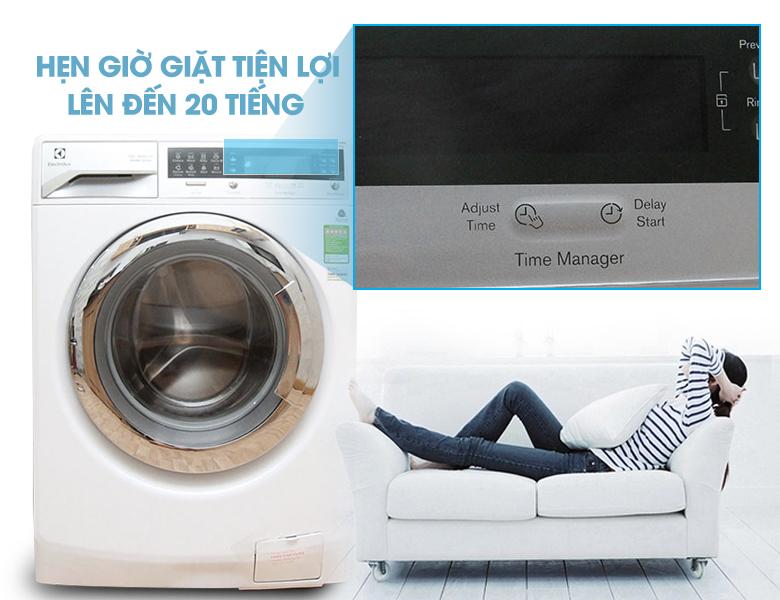 Mang lại sự tiện lợi với chức năng hẹn giờ giặt