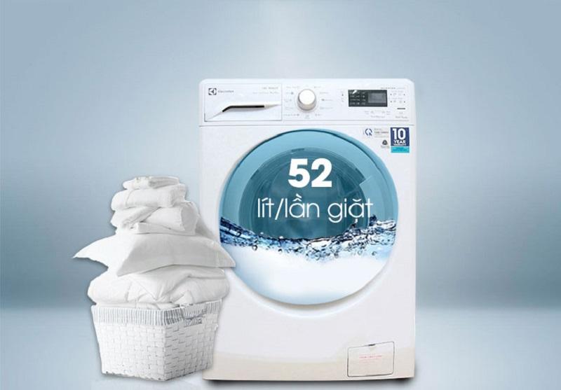 Chiếc máy giặt sấy Electrolux EWW12842 có tính năng tiết kiệm điện và hơi nước tối ưu
