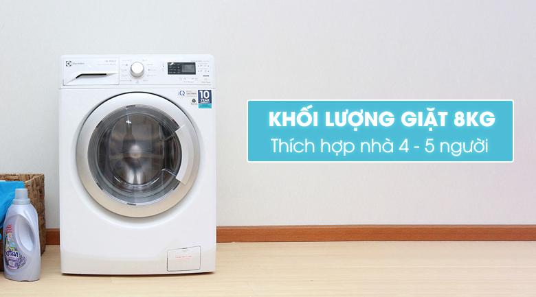 Máy giặt sấy Electrolux Inverter 8 kg EWW12842