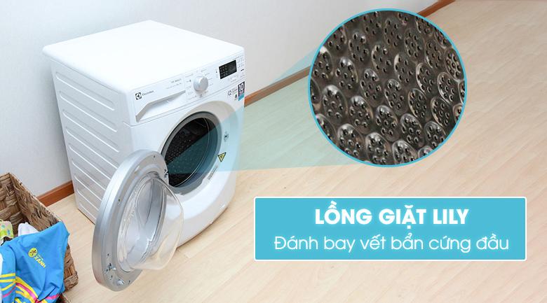 Lồng giặt Lily giúp giặt sạch hơn và bảo vệ sợi vải