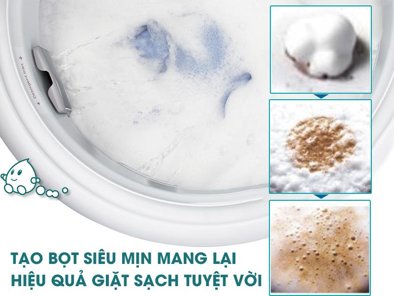 Máy giặt sấy Panasonic NA-VX93GLWVT sở hữu hệ thống Active Foam tiên tiến chỉ có ở Panasonic