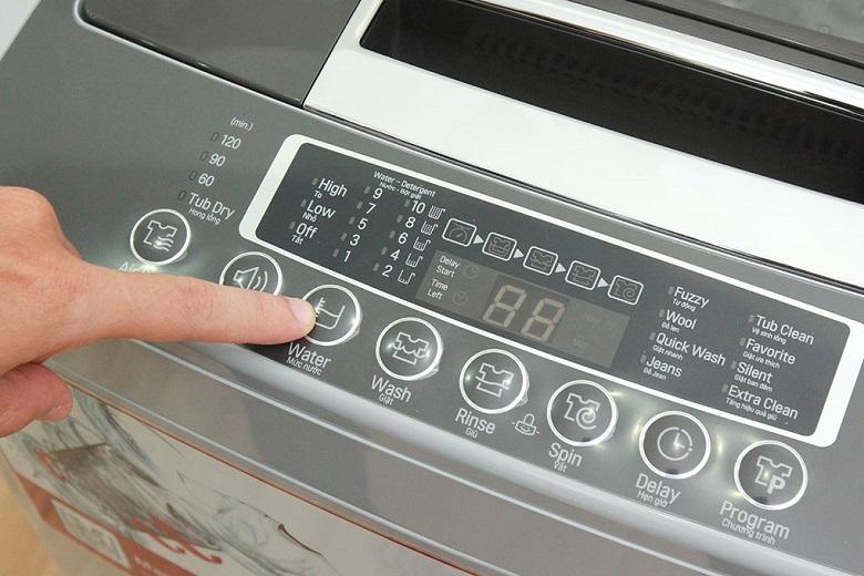 Nhiều chương trình giặt tiện ích
