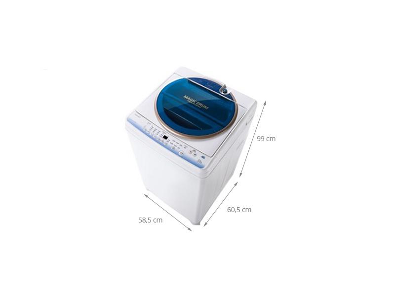 Thông số kỹ thuật Máy giặt Toshiba AW-MF920LV WB 8.2 kg