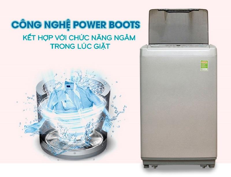 Kết quả hình ảnh cho Công nghệ giặt Power Boost