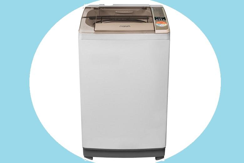 Máy giặt Aqua AQW-QW80ZT – Thiết kế vuông vức, gam màu xám trung tính tuyệt đẹp