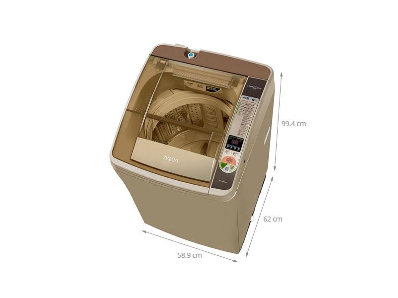 Thông số kỹ thuật Máy giặt Aqua 8 kg AQW-U800Z2TN