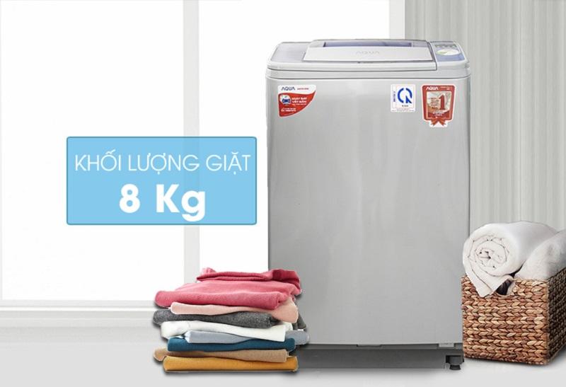 Sở hữu thiết kế mới lạ với gam màu trang nhã, máy giặt Aqua AQW-F800Z2T S sẽ đem đến sự sang trọng và tinh tế