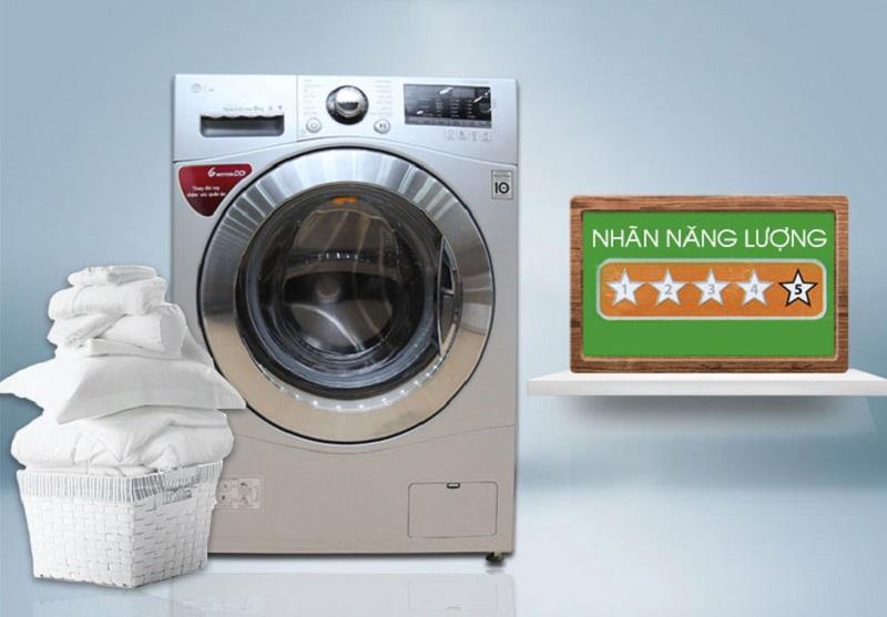 Cộng thêm công nghệ Inverter, máy giặt này sẽ thật tiết kiệm điện năng cho gia đình bạn