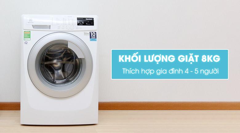 Máy giặt Electrolux 8 kg EWF12843 hình 1