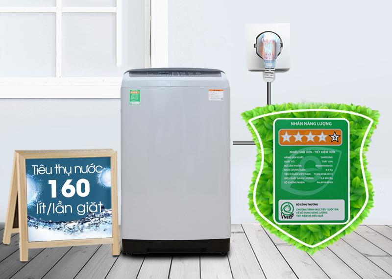 Hiệu suất năng lượng 5 sao tiết kiệm điện