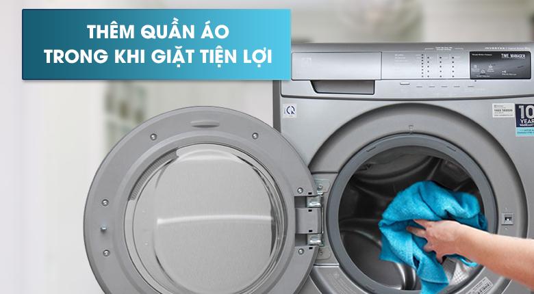 Chức năng Add Clothes - Máy giặt sấy Electrolux inverter 10 kg EWW14023