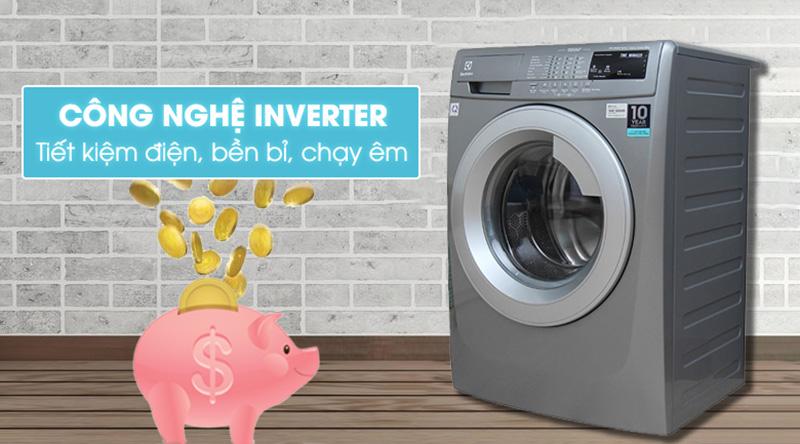 Công nghệ Inverter - Máy giặt Electrolux Inverter 8 kg EWF12844S