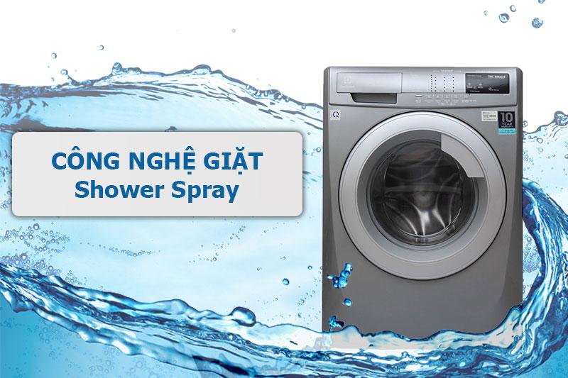 Máy giặt Electrolux EWF12844S giặt sạch tối ưu