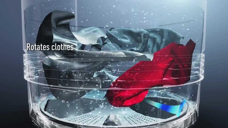 Công nghệ giặt Eco Aquabeat tiên tiến vượt trội