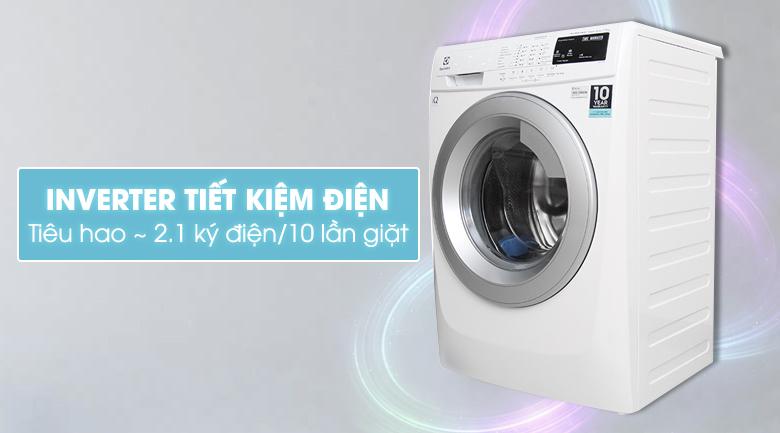 Công nghệ Inverter - Máy giặt Electrolux Inverter 7.5 kg EWF10744