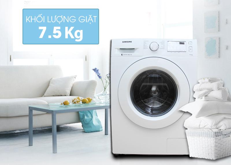 Máy giặt Samsung 7.5 kg WW75J4233KW/SV