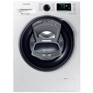 Máy giặt Samsung AddWash Inverter 9 kg WW90K6410QW/SV