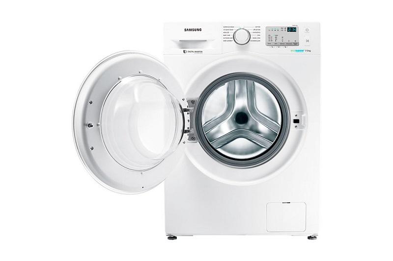 Máy giặt Samsung WW80J4233GW/SV có thiết kế sang trọng