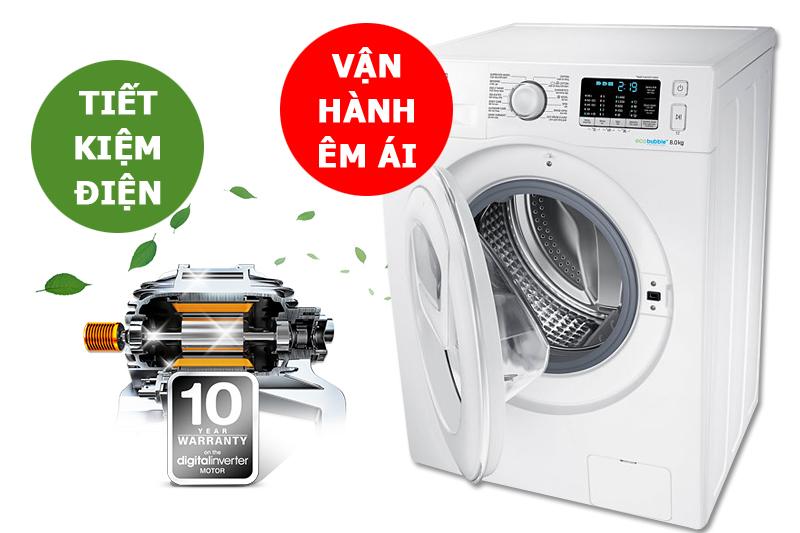 máy giặt Samsung WW80K5410WW/SV