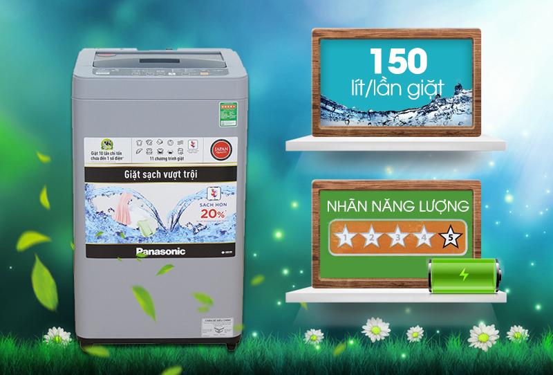 Máy giặt Panasonic NA-F76VS9GRV