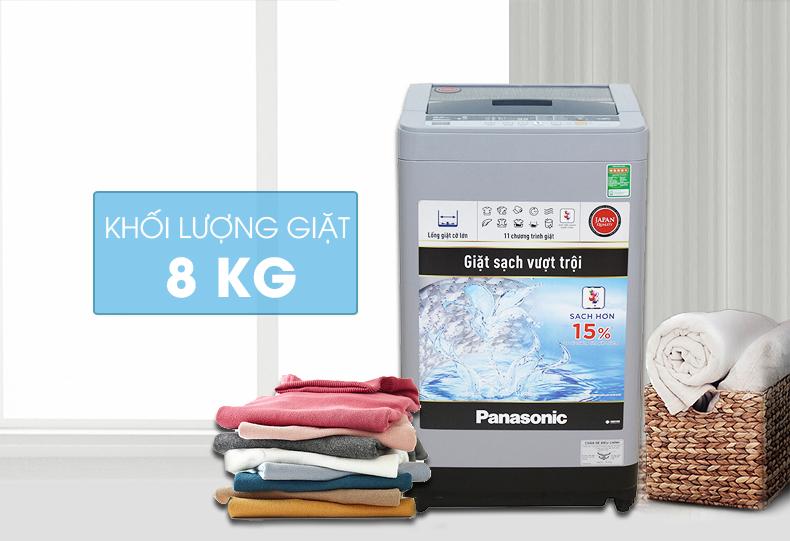 Máy giặt Panasonic NA-F80VS9GRV