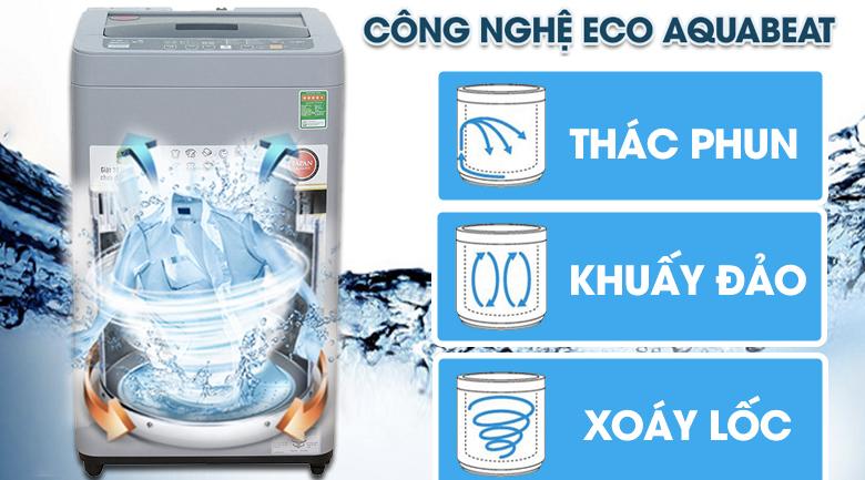 Eco Aquabeat - Máy giặt Panasonic 7 kg NA-F70VS9GRV