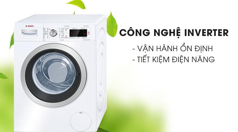 Công nghệ Inverter - Máy giặt Bosch Inverter 8 KG WAW28480SG