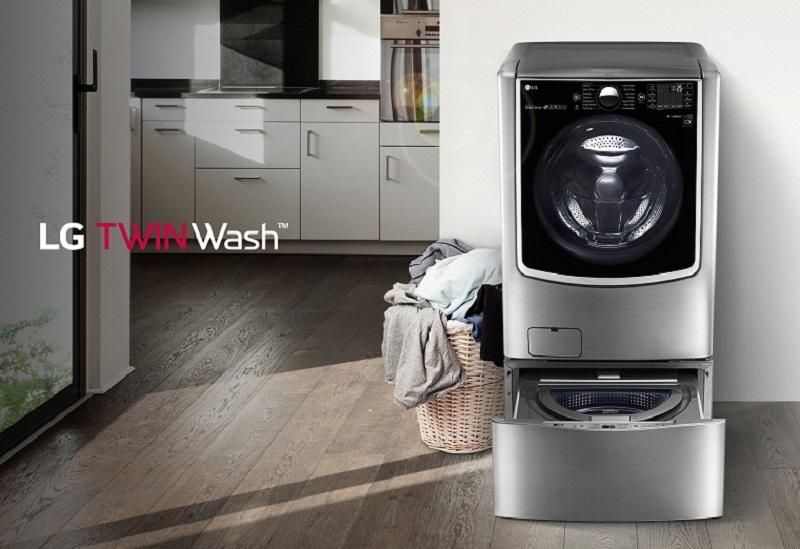 Máy giặt LG Twinwash F2721HTTV & T2735NWLV